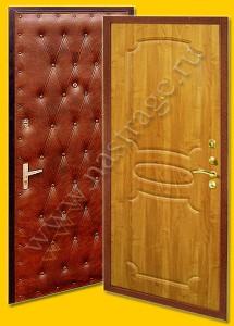 Стальная дверь модель Эконом-15