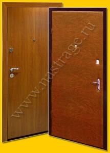 Стальная дверь модель Ламинат-1