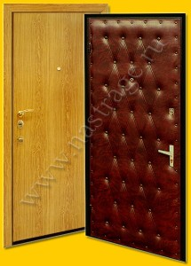 Стальная дверь модель Ламинат-2