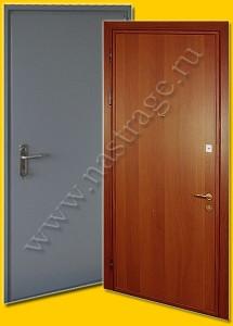 Стальная дверь модель Ламинат-3.