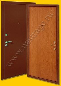 Стальная дверь модель Ламинат-4.