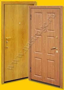 Стальная дверь модель Ламинат-6