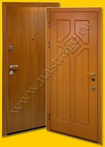 Стальная дверь модель Ламинат-7