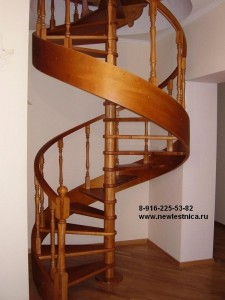 Винтовые деревянные лестницы для дома, коттеджа, дачи infrus.ru