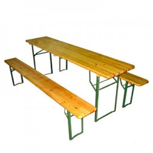 Комплект мебели складной из дерева 1800х500 infrus.ru