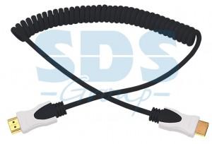 Шнур HDMI- HDMI 2М черный витой REXANT